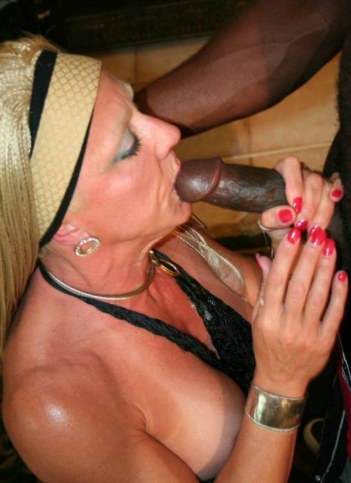 real wife sucks black cock pics