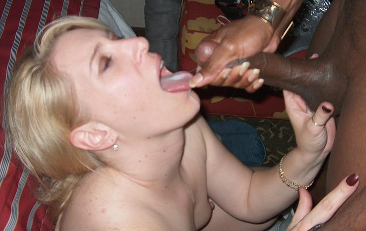 black girls sucking white dick video