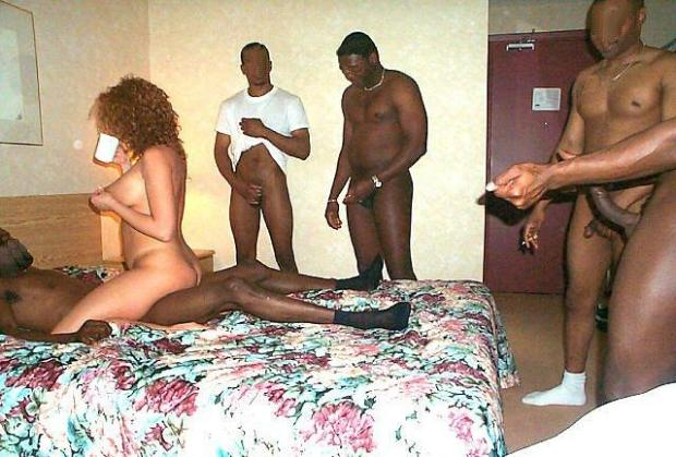 blacks on blonde anal fuck