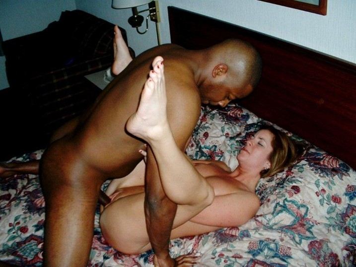 fine white girl fucking black guy