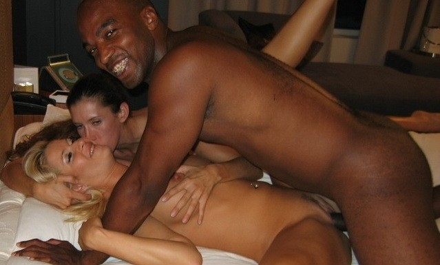 Wife fucks black cock sex stories much