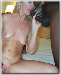 black horny mathers getting fucked